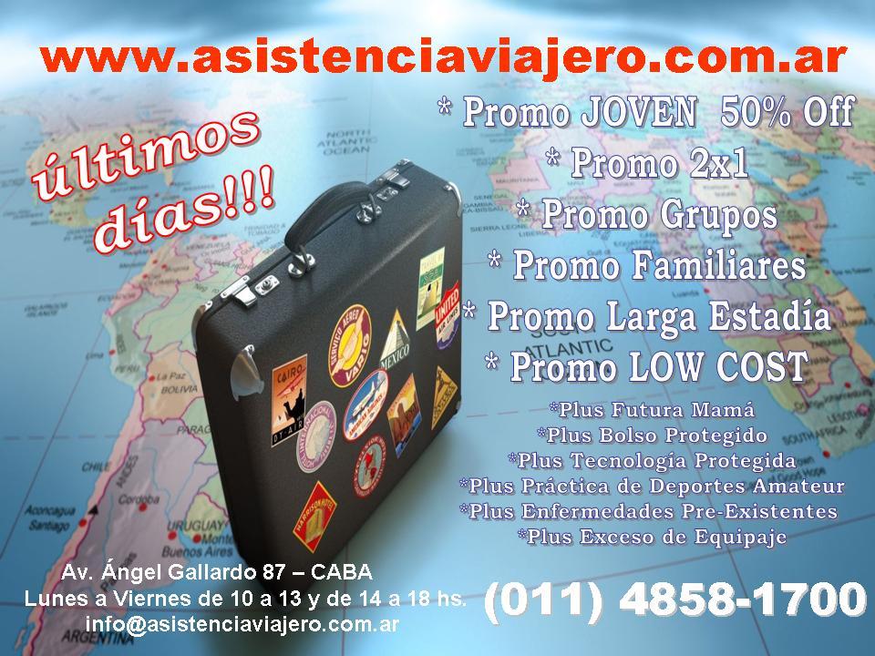 Hacé clic y cotiza asistencia viajero